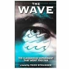 The Wave by Todd Strasser (1982, Hardcover)