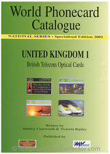 World Phonecard Catalogue - United Kingdom 1 - British Telecom Optical Cards