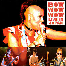 Bow Wow Wow-Live In Japan CD NEW