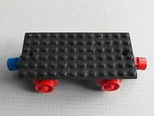 Lego Train - Black Train Base - 6 x 12 Studs - With Wheels & Magnet (x487c01)-54