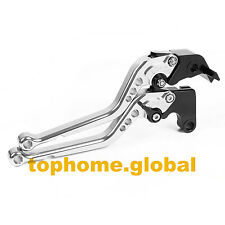 For Yamaha R6 1996-2004 Long Clutch Brake Levers 1997 1998 1999 2000 2001 2002
