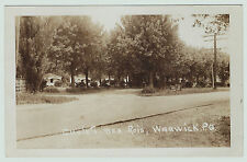 RPPC  Chalets der Rois Warwick PQ Quebec Canada 1940 Real Photo Postcard