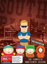 South Park : Season 19 (DVD, 2016, 2-Disc Set) R/4 = GENUINE NO FAKE