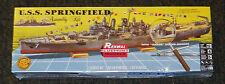 Revell Monogram Renwal U.S.S Springfield Destroyer model kit 1/500