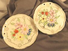 Vintage Hand Painted Small Wall Plates by Takiya (553)