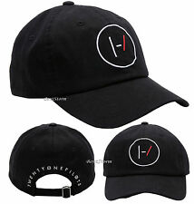 21 Twenty One Pilots Band Logo Embroidered Black DAD Ball Cap Hat Adjustable NEW