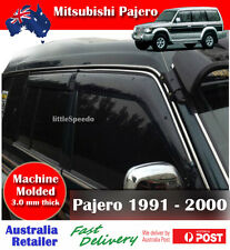 Mitsubishi Pajero 1991-2000 Weathershield Rain Weather Shield Window Visor
