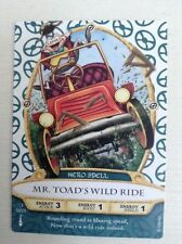 Sorcerers of the Magic Kingdom Mr Toad's Wild Ride Card 50/70