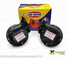 XTREME LEO Windtone Skoda Black Horn For Universal Bikes & Cars
