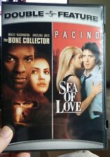The Bone Collector/Sea of Love Double Feature (DVD, 2007, 2-Disc Set) Free S&H