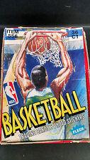 1989-1990 Fleer Basketball Unopened 89-90 Wax Box !
