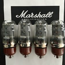 KT66 ORIGINAL MARSHALL SPARES MATCHED QUAD VALVE/TUBE
