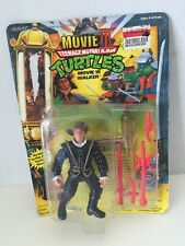 TEENAGE MUTANT NINJA TURTLES FIGURINE MOVIE III WALKER VINTAGE 1992 MOC TMNT