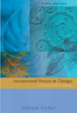 Interpersonal Process in Therapy: An Integrative Model, Teyber, Edward, Acceptab