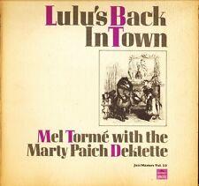 MEL TORME/MARTY PAICH DEKTETTE lulu's back in town 545 110 A1/B1 uk LP PS EX/VG+
