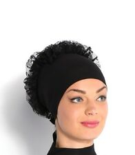 Hijab 2in1 Volumising Bonnet Cap Scrunchie Bun Large Scarf Khaleeji Volumiser