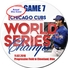 World Series 2016  Chicago Cubs vs. Cleveland Indians Game 7 DVD