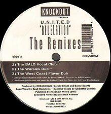 U.N.I.T.E.D. - Revelation (Louie Balo Guzman, DJ Digit Remixes) - 1993 Knockout