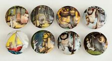 8 Where are the Wild Things Wooden Dresser Bedding Cordinate Drawer Knobs Pulls