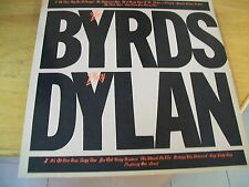 THE BYRDS PLAYS DYLAN  LP MINT-