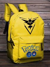 Pokemon Go Team Women Girl Shoulder School Bag Backpack Travel Satchel Rucksack