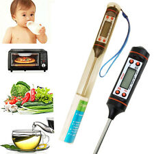 NEW DIGITAL KITCHEN PROBE THERMOMETER FOOD COOKING BBQ MEAT STEAK TURKEY MILK