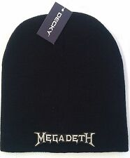 MEGADETH LICENSED BEANIE SKULL CAP  ROCK metal NEW! t-shirt