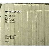 Klangforum Wien-Music To Hearlitanei Etc CD NEW
