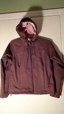 Columbia Convert Boardwear Brown Hooded Jacket, Womens Lg.
