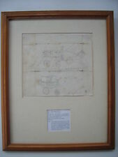 Myles Birket Foster : 1st known drawing : later signature & monogram : c. 1829