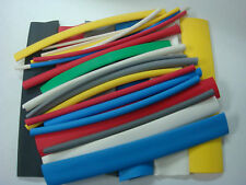 2:1 Flexible Polyolefin Heat Shrink Tubing Assortment 8 colors & sizes USA MADE