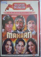 MAHAAN - BOLLYWOOD DVD - Amitabh Bachchan, Zeenat Aman & Amjad Khan.