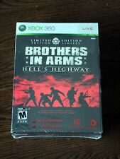 New Brothers in Arms: Hell's Highway Limited Ed Game (Xbox 360) Torn Cellophane