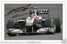 Michael Schumacher SIGNED 6x4 PHOTO F1 FORMULA ONE AUTOGRAPH MERCEDES