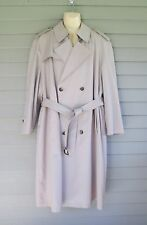 Austin Reed Mens Classic Tan Belted All Weather Trench Coat 44 - extra lining