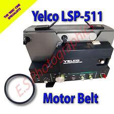 YELCO lsp-511 Sound 8mm CINE PROIETTORE Belt (motore principale Cintura)