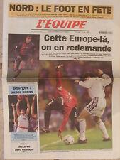 L'Equipe du 5/4/2000 - Réal-Manchester - Bourges basket - McLaren