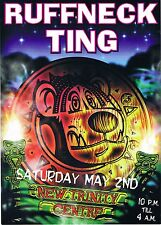 RUFFNECK TING Rave Flyer Flyers year unknown A5 New Trinity Centre Bristol