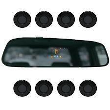 "Asistente aparcamiento ""parking mundo"" 8x sensores 21mm oscuro gris Indicador marcha atrás PDC m15"