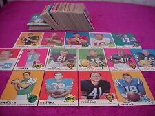 Topps Football Card set 1969 Csonca Piccalo Rookies