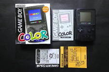 LIMITED System NINTENDO GAME BOY COLOR Black EDEN JAPAN Very.Good.Condition