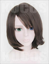 Final Fantasy X Yuna Summoner FF10-2 Anime Costume Cosplay Wig Hair NEW