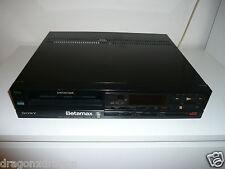 Sony sl-f65 Betamax video recorder, raramente utilizzato, NUOVO, 2 ANNI GARANZIA