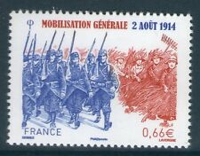 TIMBRE 4889 NEUF XX LUXE - MOBILISATION GENERALE - GUERRE 1914-1918 - 02 AOUT 14
