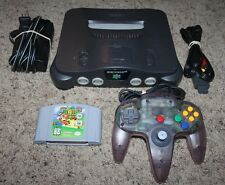 Nintendo 64 Console System Complete OEM Cords Super Mario 64 Game Cartridge Lot