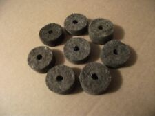 NEW 8 Cymbal Stand Felt Washers for Crash, Ride, Hats, Drum Set. Lot of 8 Felts