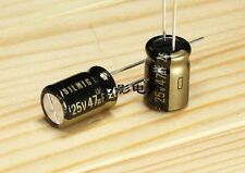 10pcs Japan ELNA 25V47UF 47uF/25V RFS SILMIC II Series HIFI Audio Capacitor