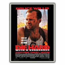 DIE HARD WITH A VENGEANCE METAL SIGN WALL PLAQUE Film Movie Advert poster print