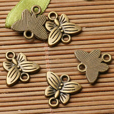 20pcs antiqued bronze color butterfly connector for jewerly making EF2884