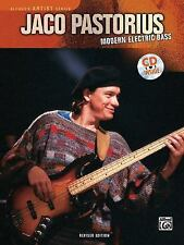 Alfred's Artist: Modern Electric Bass by Jaco Pastorius and Jerry Jemmott...